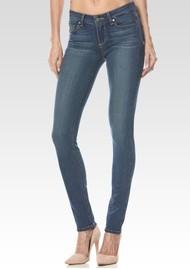 Paige Denim Verdugo Mid Rise Ultra Skinny Transcend Jeans - Tristan