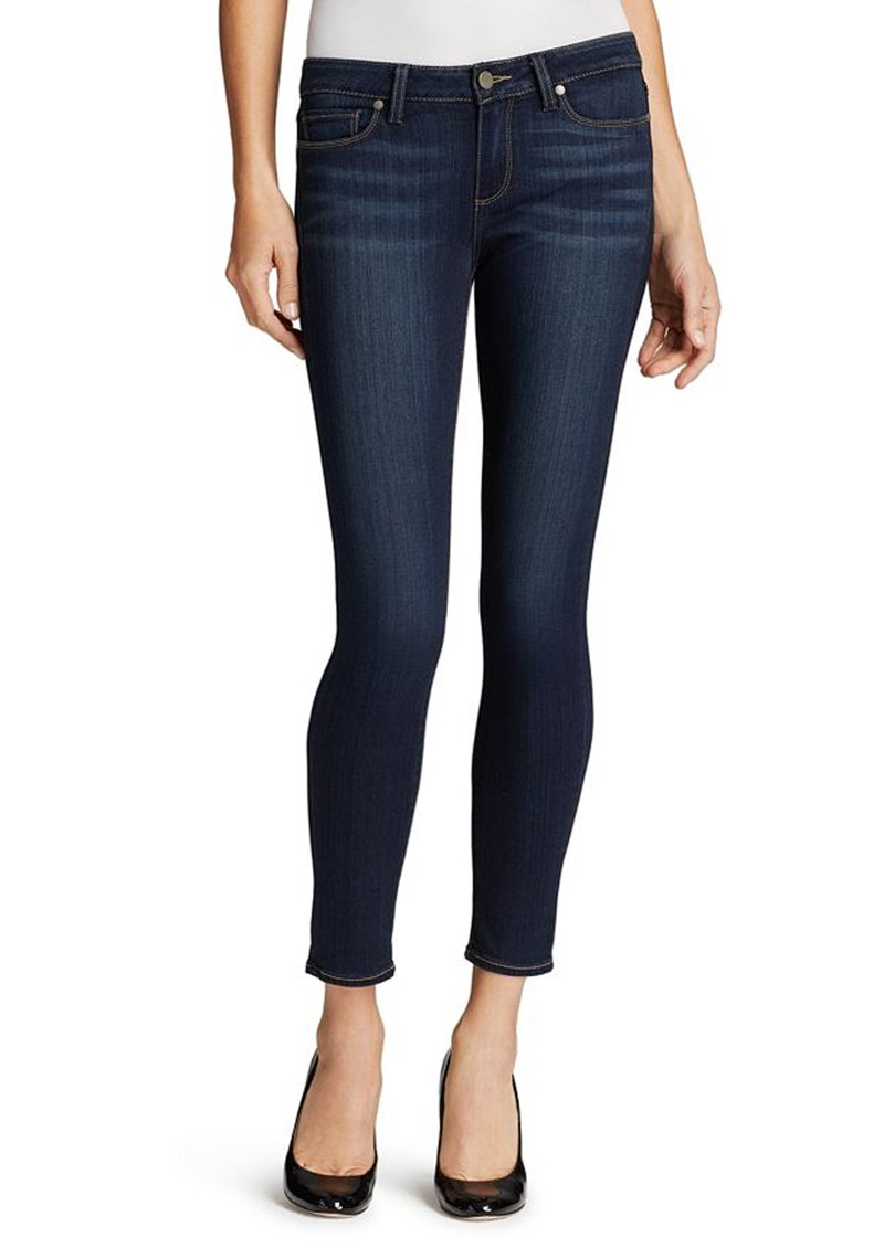 Paige Denim Verdugo Mid Rise Ultra Skinny Ankle Transcend Jeans - Nottingham main image