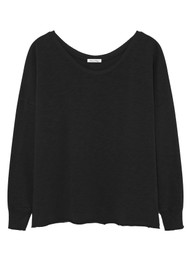 American Vintage Sonoma Long Sleeve T-Shirt - Black