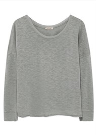 American Vintage Sonoma Long Sleeve T-Shirt - Heather Grey