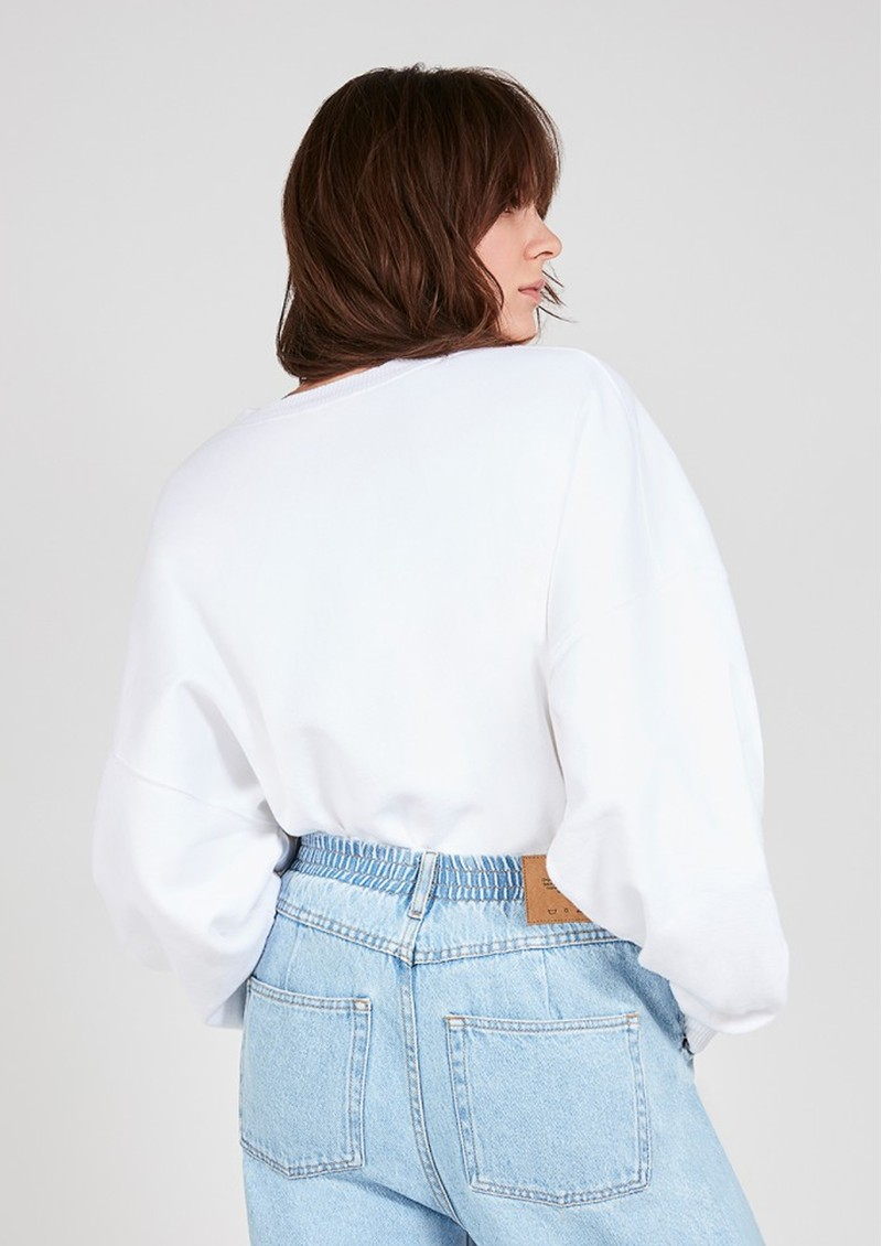 American Vintage Wititi Sweatshirt - White main image