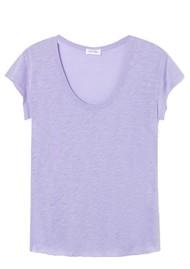 American Vintage Lorkford Short Sleeve Tee - Violet