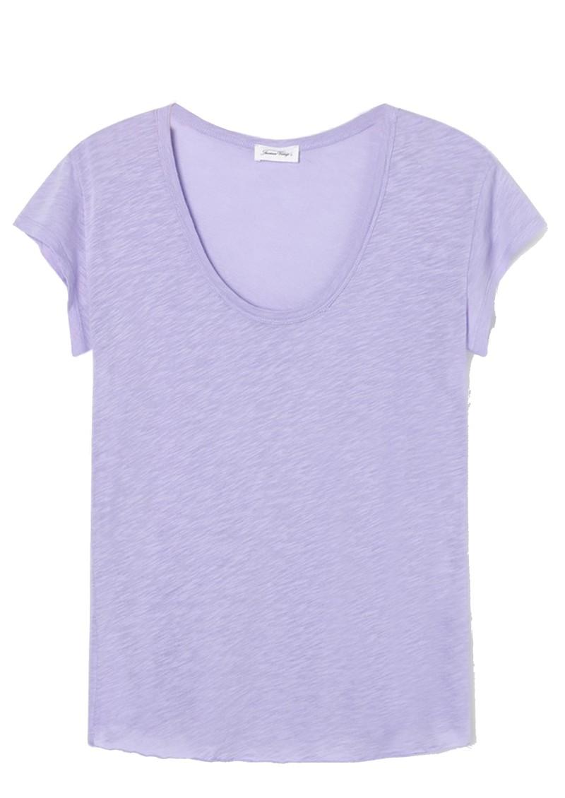 American Vintage Lorkford Short Sleeve Tee - Violet main image