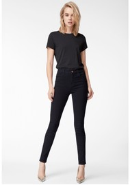 J Brand Maria High Rise Photo Ready Skinny Jeans - Blue Bird