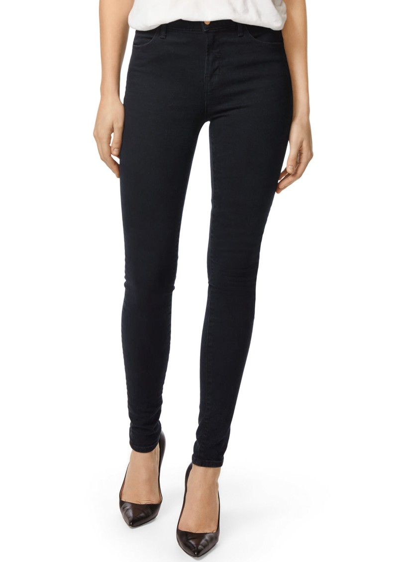 J Brand Maria High Rise Photo Ready Skinny Jeans - Blue Bird main image