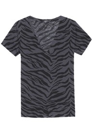 Rails Cara Tee - Charcoal Tiger
