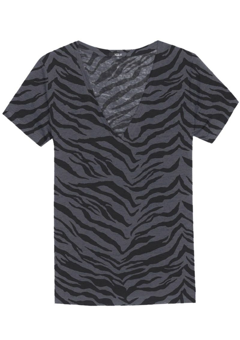 Rails Cara Tee - Charcoal Tiger main image