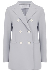 HARRIS WHARF Long D.B Blazer - Cloud