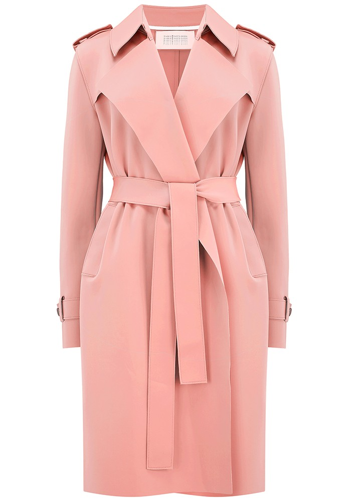 Soft Trench Coat - Nude main image
