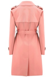 HARRIS WHARF Soft Trench Coat - Nude