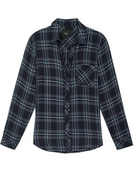 Rails Hunter Shirt - Grey, Midnight & Sky