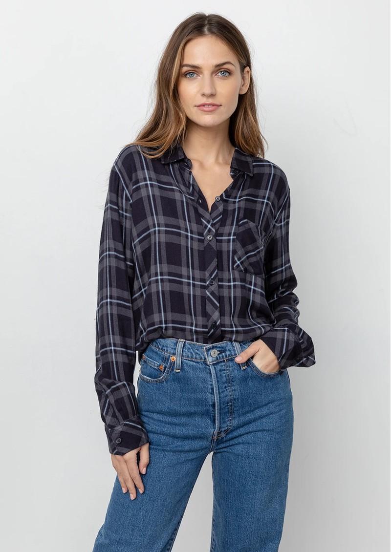Rails Hunter Shirt - Grey, Midnight & Sky main image