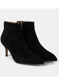 SHOE THE BEAR Valentine Suede Heel Shoe Boot - Black