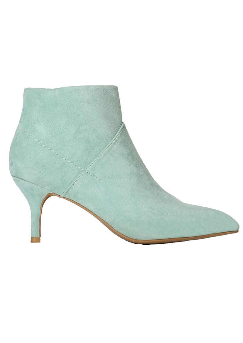 SHOE THE BEAR Valentine Suede Heel Shoe Boot - Mint main image