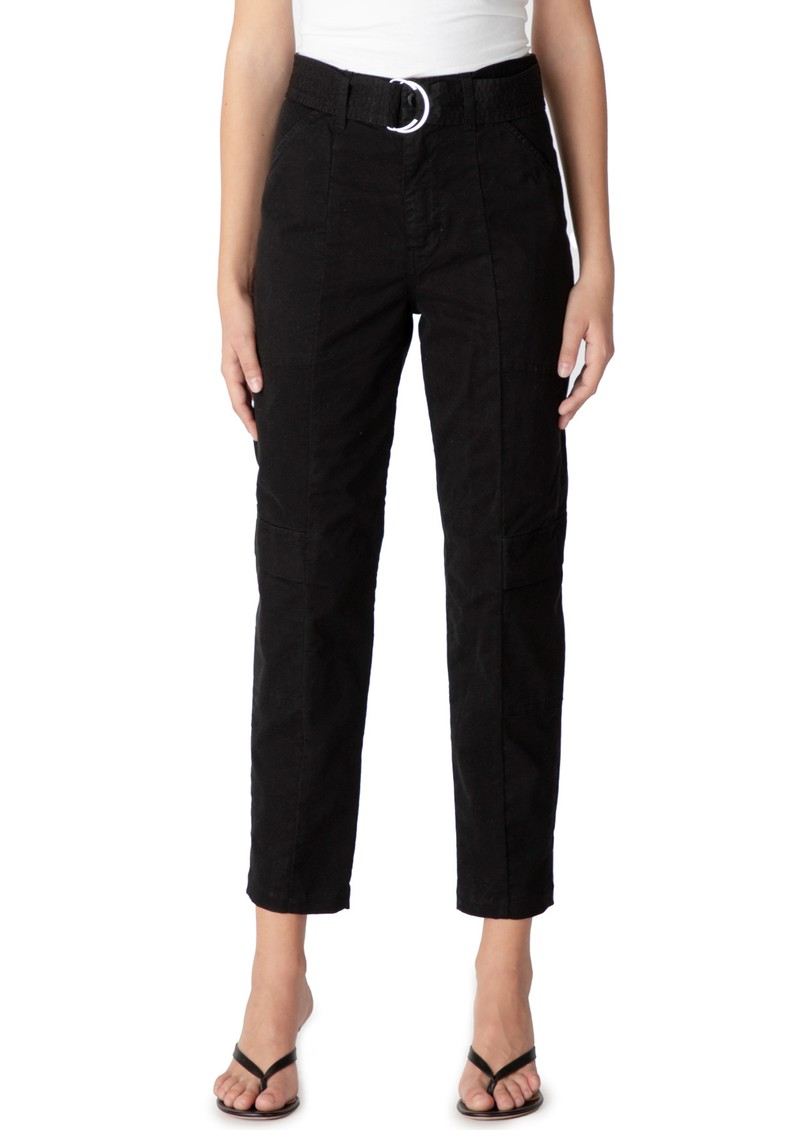 J Brand Athena  Surplus High Rise Cigarette Pant - Black main image