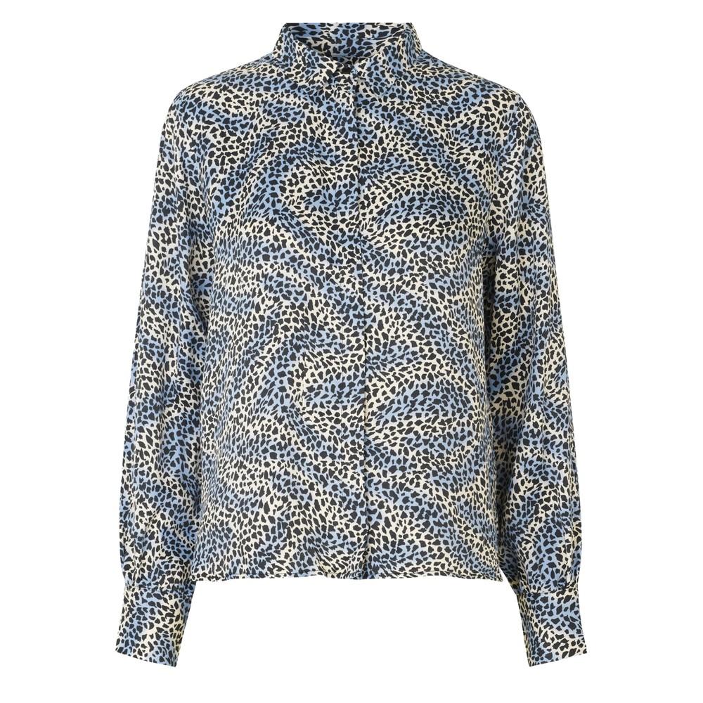 Isa Printed Shirt - 209 Blue