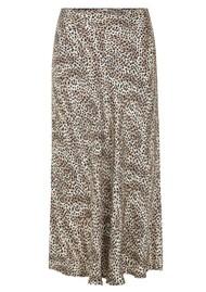 LEVETE ROOM Isa 3 Printed Skirt - 999 Leopard