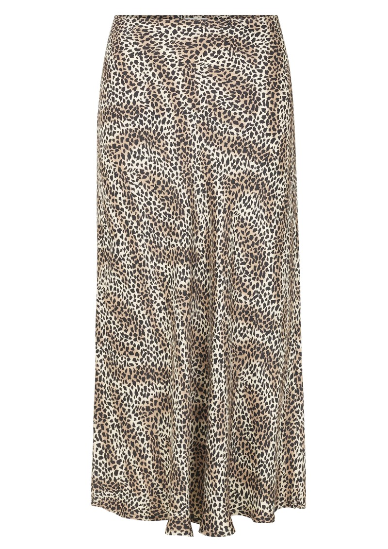LEVETE ROOM Isa 3 Printed Skirt - 999 Leopard main image