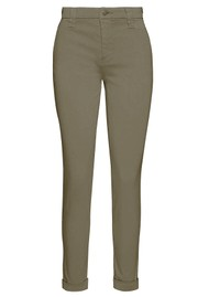 J Brand Paz Slim Tapered Luxe Sateen Trouser - Lalia