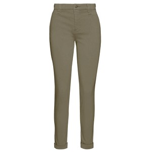 Paz Slim Tapered Luxe Sateen Trouser - Lalia