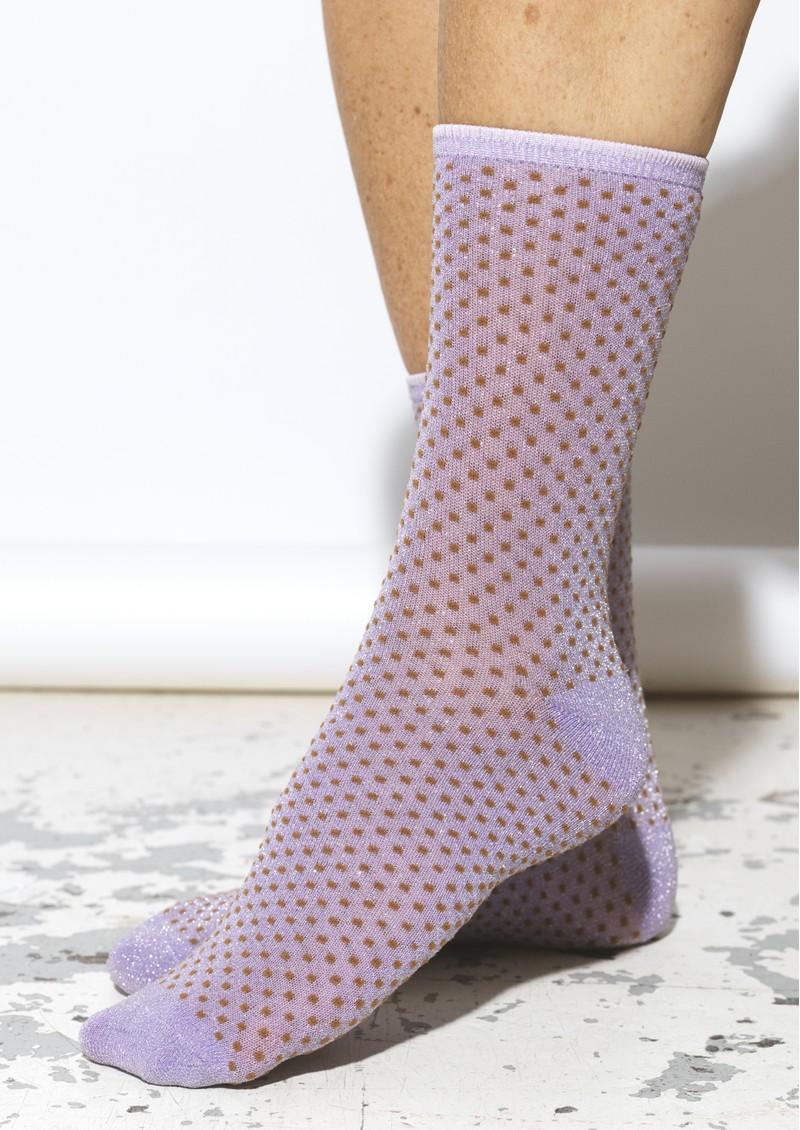 Becksondergaard Dina Small Dots Socks - Aleutian main image