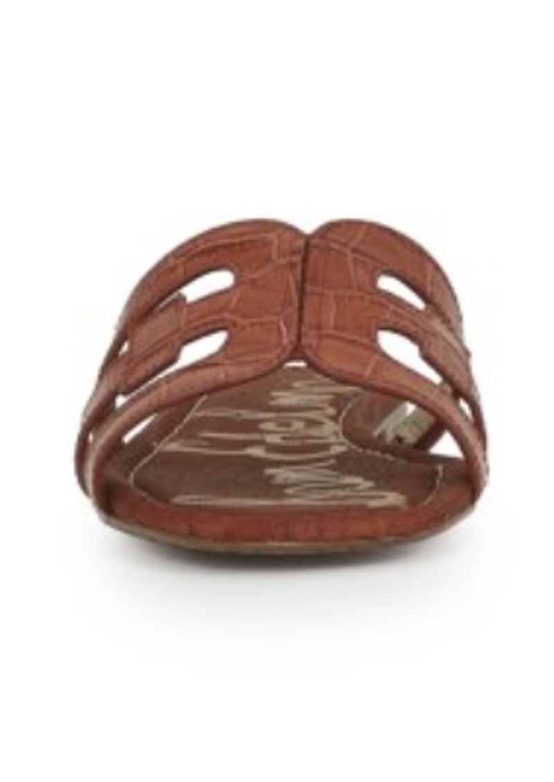Sam Edelman Bay Leather Sandals - Mahogany main image