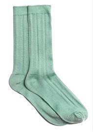 Becksondergaard Glitter Drake Socks - Silt Green
