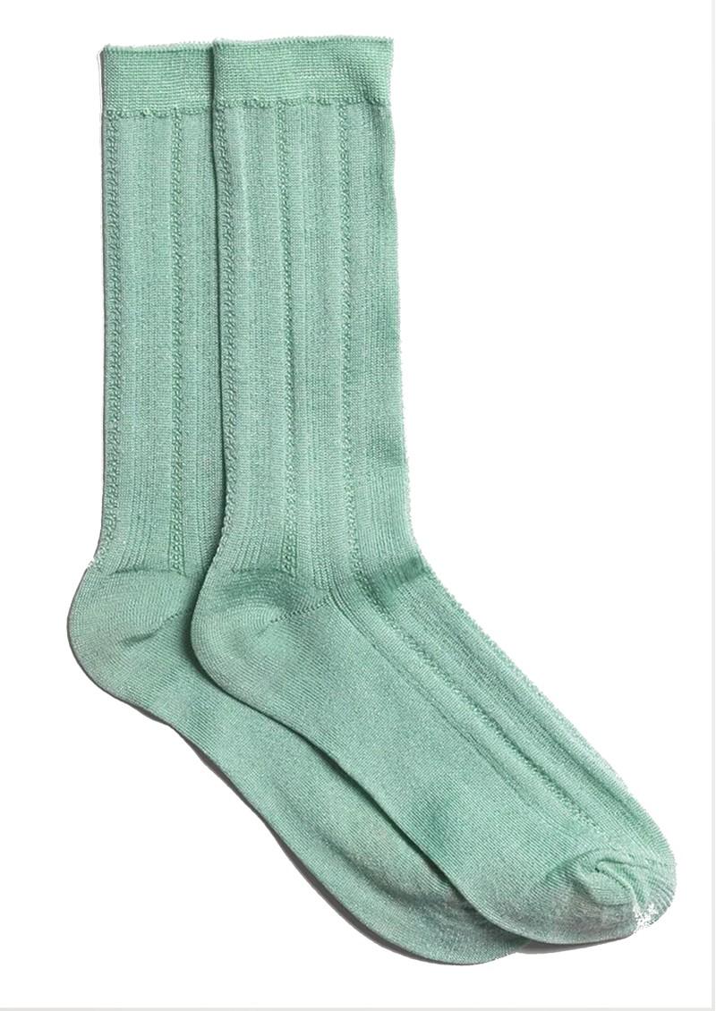 Becksondergaard Glitter Drake Socks - Silt Green main image