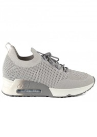 Ash Lunatic Bis Knit Trainer - Grey