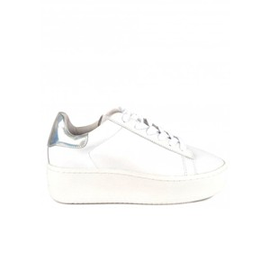 Cult Trainers - White & Silver