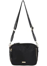 DAY ET Day Double Zip Cross Body Bag - Black