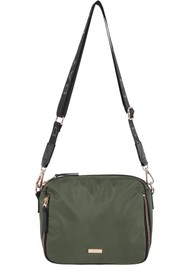 DAY ET Day Double Zip Cross Body Bag - Four Leaf Clove