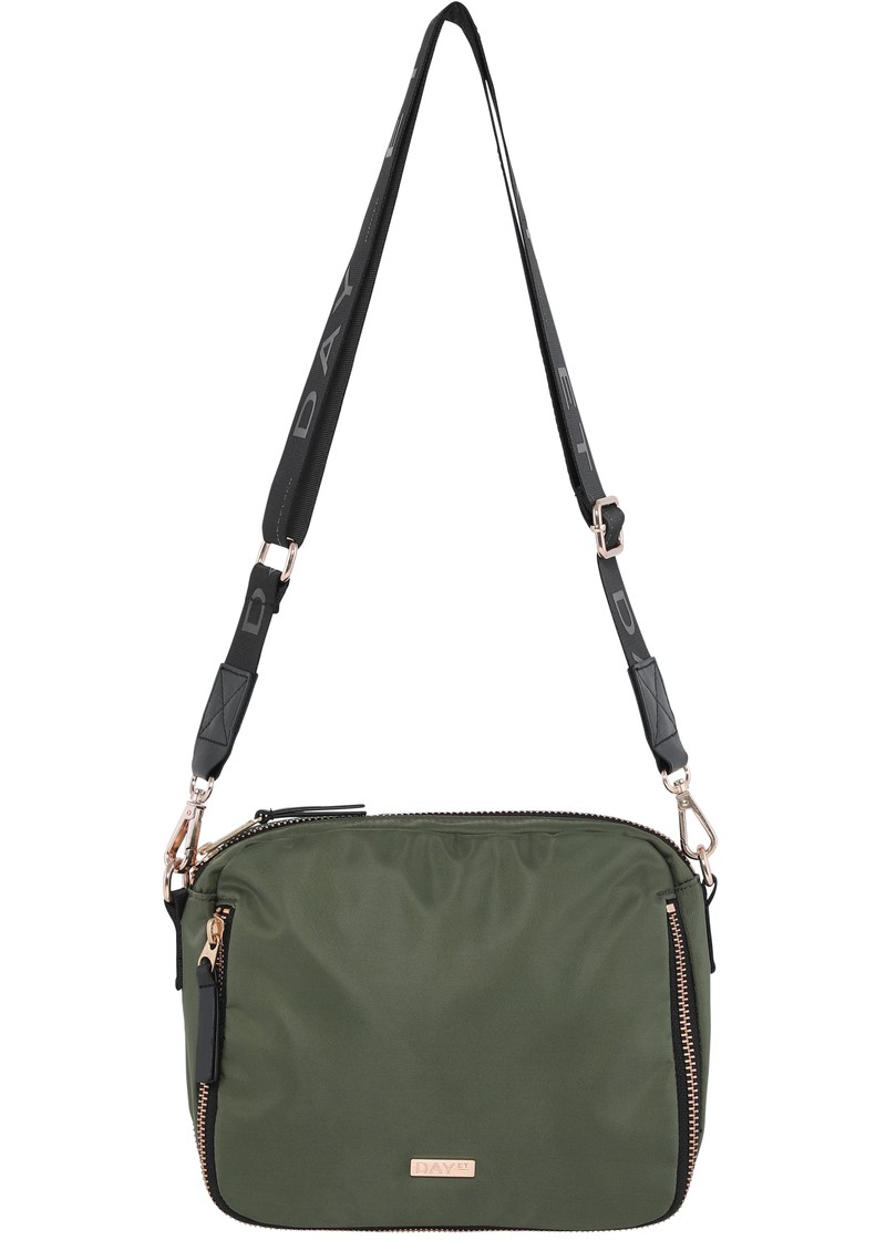 DAY ET Day Double Zip Cross Body Bag - Four Leaf Clove main image