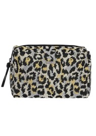DAY ET Day Gweneth Leopard J Jagged Beauty Bag - Yellow