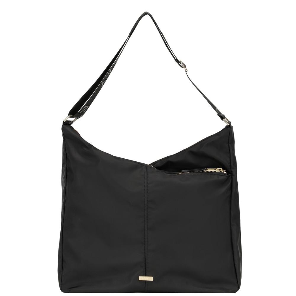 Day Double Zip Hobo Bag - Black