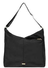 DAY ET Day Double Zip Hobo Bag - Black
