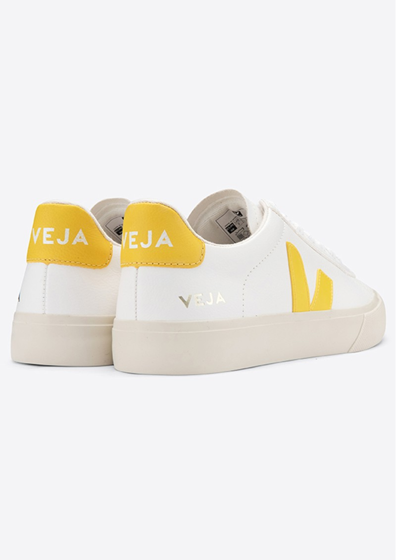 VEJA Campo Leather Trainers - Extra White & Tonic main image