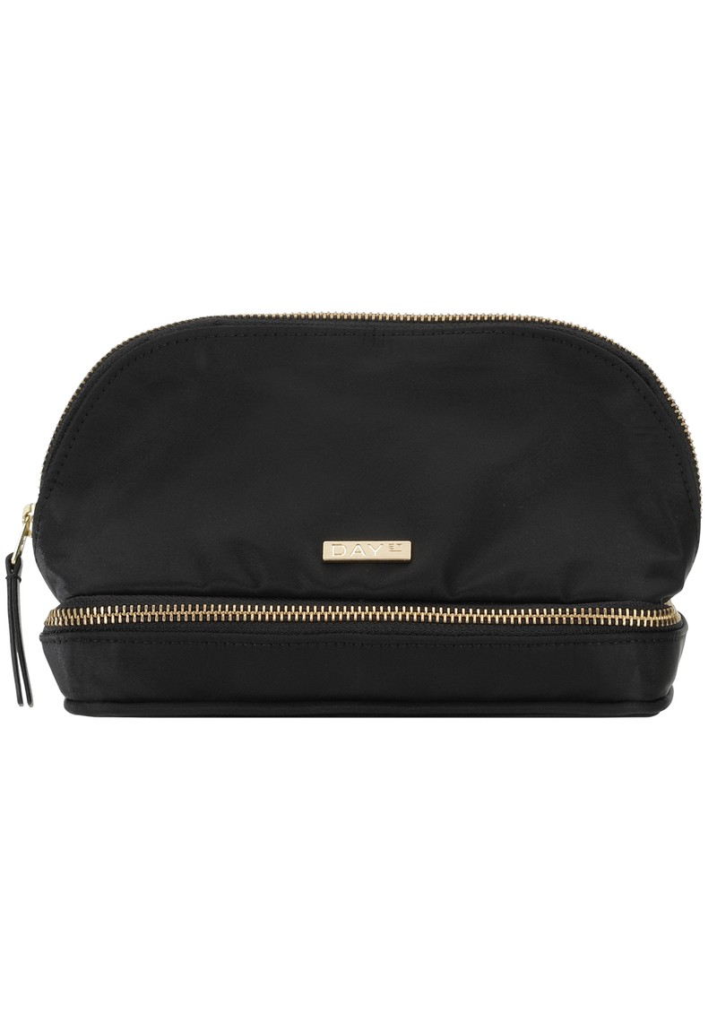Day Double Zip Cosmetic Bag - Black main image