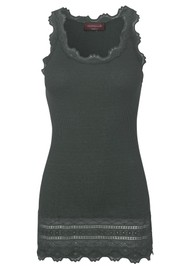 Rosemunde Wide Lace Silk Blend Vest - Urban Chic