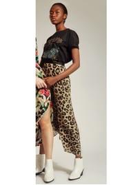Pyrus Keira Printed Skirt - Muted Cheetah