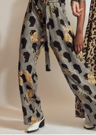 Pyrus Rosin Printed Trousers - Futura
