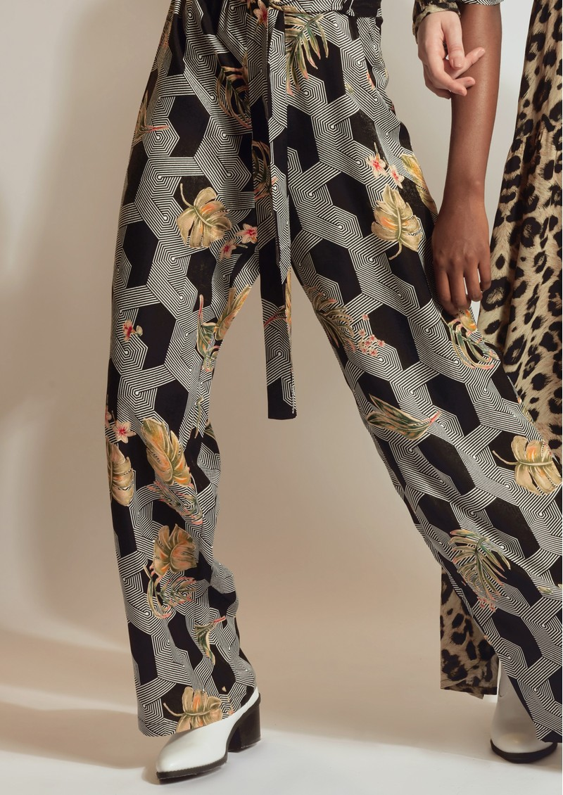 Pyrus Rosin Printed Trousers - Futura main image