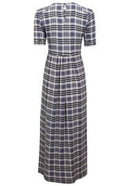 BAUM UND PFERDGARTEN Adamaris Dress - Cream & Navy Check