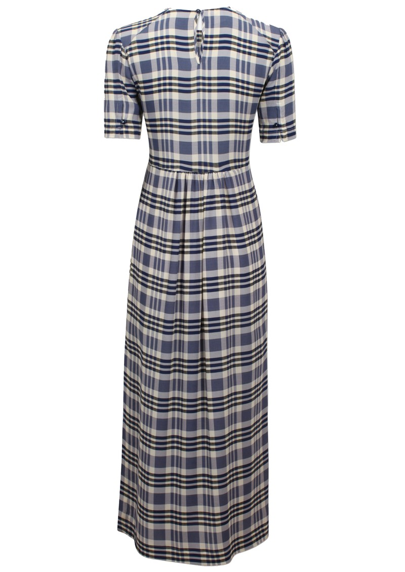 BAUM UND PFERDGARTEN Adamaris Dress - Cream & Navy Check main image
