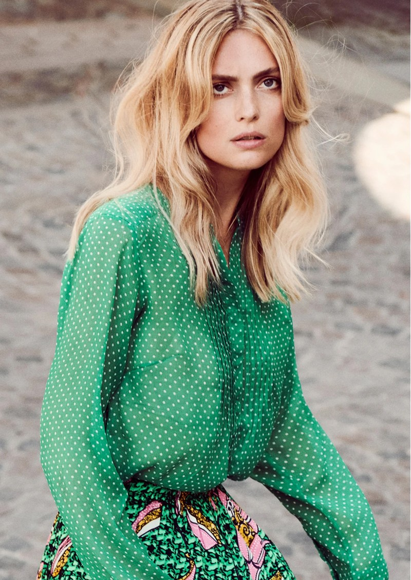 LOLLYS LAUNDRY Helena Shirt - Green main image