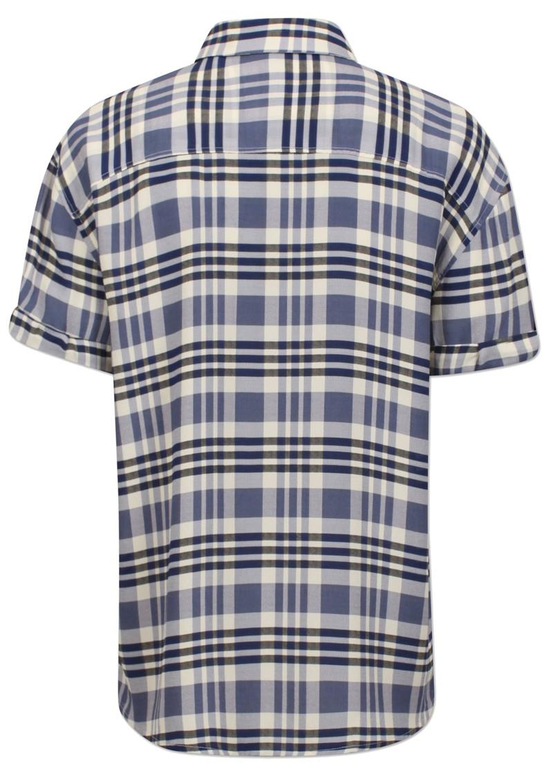 BAUM UND PFERDGARTEN Moanna Shirt - Cream & Navy Check main image