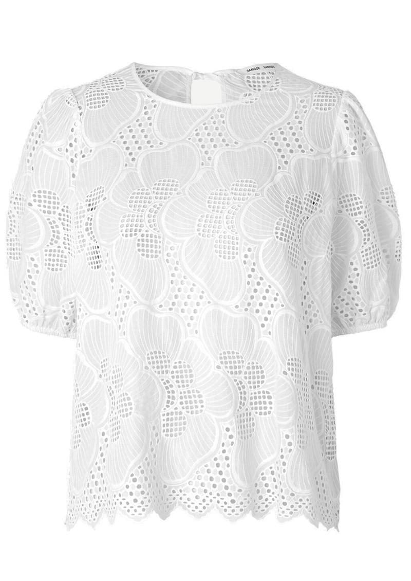 SAMSOE & SAMSOE Juni Blouse - Bright White main image