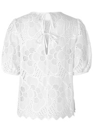 SAMSOE & SAMSOE Juni Blouse - Bright White