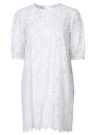 SAMSOE & SAMSOE Juni Dress - Bright White