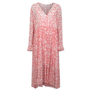 Axelle Dress - Cream Ditsy